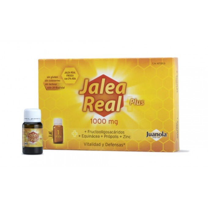 Jalea Real Plus 14 viales