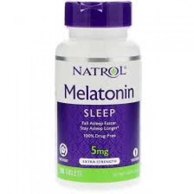 Melatonina Natrol 5mg T/R 100 tablets